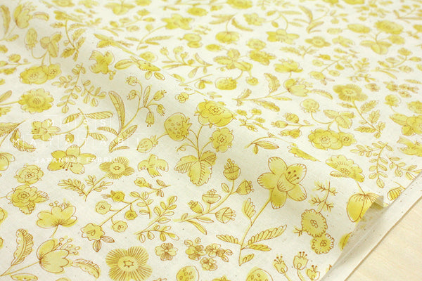 Natural flowers - yellow, cream
