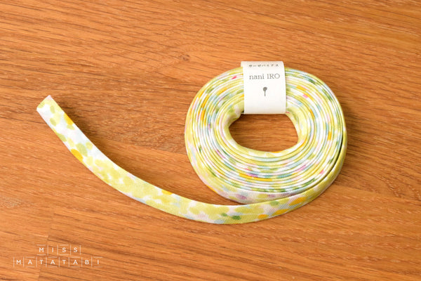 nani IRO Kokka Double Gauze Bias Tape - Birds Eye - Ibuki