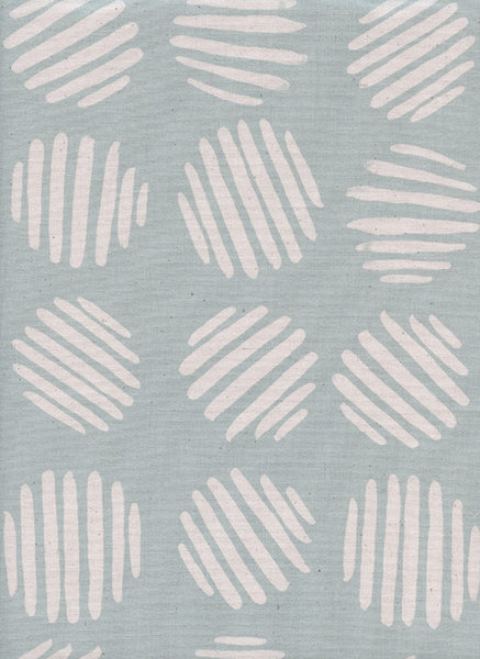 Cotton + Steel Panorama Ocean - coin dots - baby powder - fat quarter
