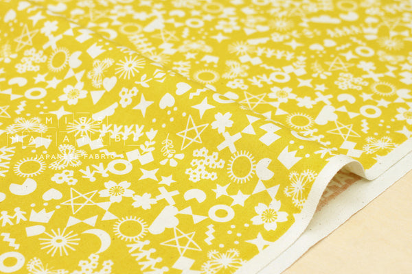 Cotton + Steel Paper Cuts - cut it out - maize