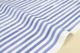 Kokka Pattern and Pattern - stripes - blue, green