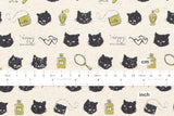 Kokka Trefle Pretty Cat - fat quarter