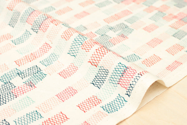 Cotton + Steel Paper Cuts - toami - spearmint