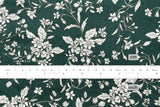 Emerlald Floral - green