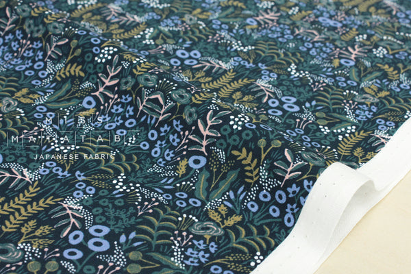 Cotton + Steel Menagerie - tapestry - navy - fat quarter