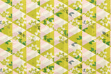 Cotton + Steel Flutter - kaleidoscope - citron