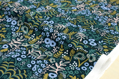 Cotton + Steel Menagerie rayon - tapestry - navy