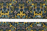 Cotton + Steel Menagerie - tapestry - midnight