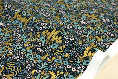 Cotton + Steel Menagerie - tapestry - midnight - fat quarter