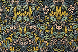 Cotton + Steel Menagerie canvas - tapestry - midnight