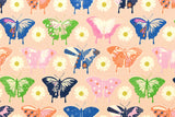 Cotton + Steel Flutter - butterflies - peach - fat quarter