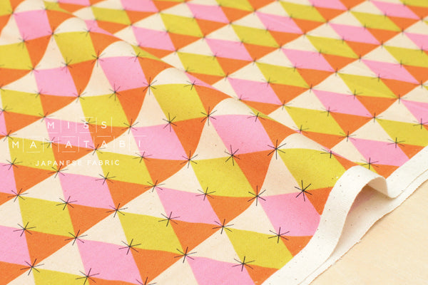 Cotton + Steel Flutter - prism - pink