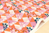 Cotton + Steel Flutter - kaleidoscope - orange