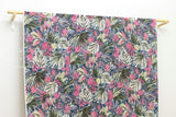 Coconuts chiffon voile - pink, blue, grey, green