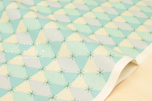 Cotton + Steel Flutter - prism - aqua