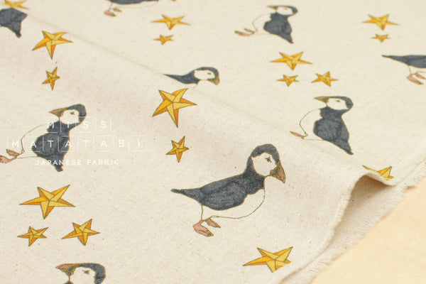 Puffin canvas - natural