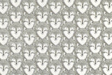 Cotton + Steel Magic Forest - foxes grey - fat quarter