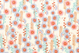 Cotton + Steel Santa Fe - hollyhocks - natural - fat quarter