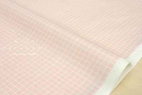 Cotton + Steel Snap to Grid - snap to grid - cotton candy pink - fat quarter