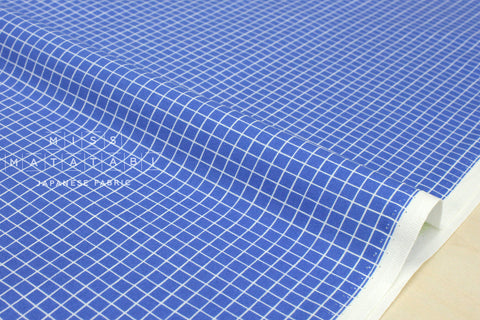 Cotton + Steel Snap to Grid - snap to grid - cobalt