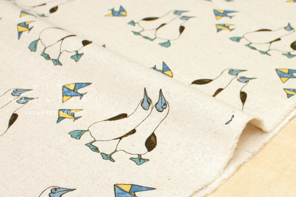 Gannet canvas - natural - fat quarter