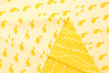 Kokka Toy Fabrics - duck - yellow - fat quarter