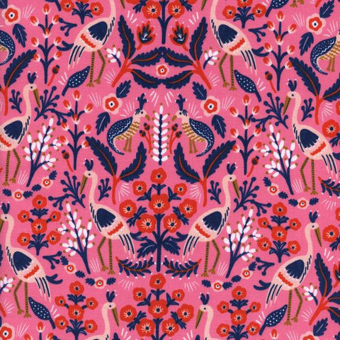 Cotton + Steel Les Fleurs - tapestry - rose