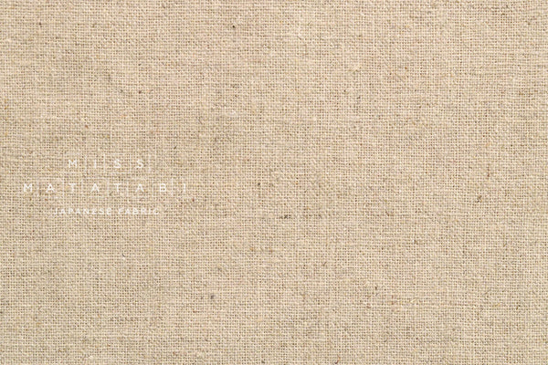 Half Linen Solids - natural