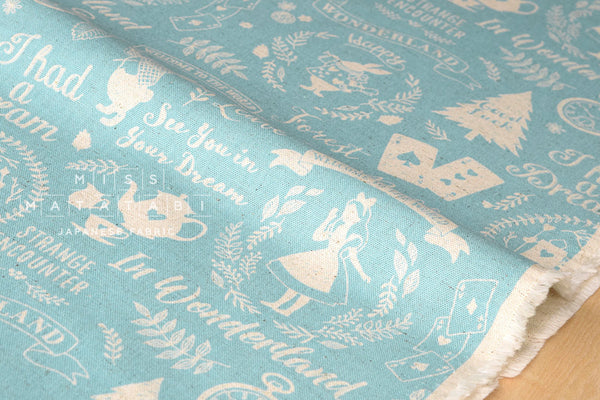 Kokka Wonderland - blue - fat quarter