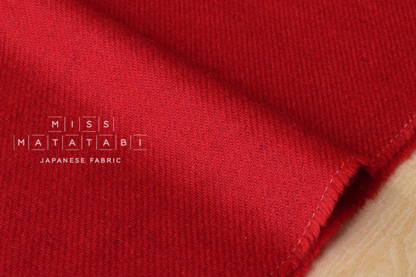 Wool Twill - red
