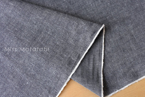 Yarn dyed chambray - denim blue