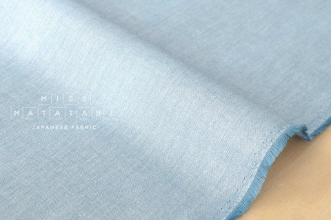 Star dust chambray - light blue