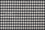 Yarn Dyed Brushed cotton small gingham check