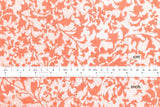 Botanical Swiss Dots - cotton lawn - coral pink