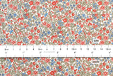 Tiny Flowers - cotton lawn - A