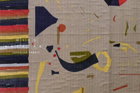 Nani Iro Kokka Japanese Fabric Wonder world - move