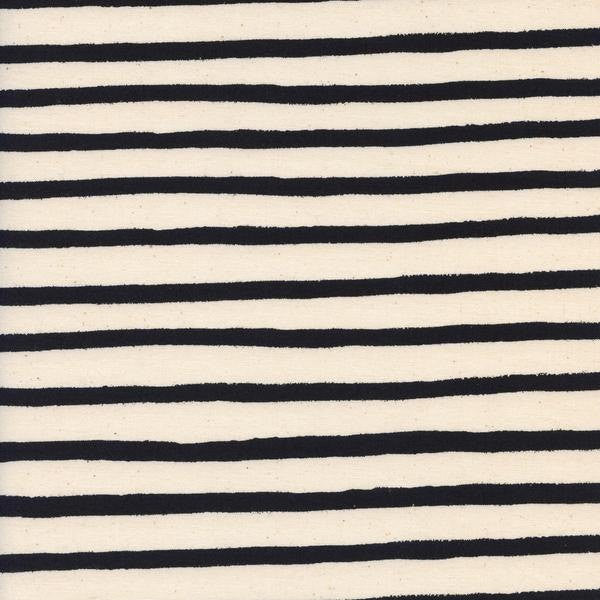 Cotton + Steel Wonderland - cheshire stripe - cream - fat quarter