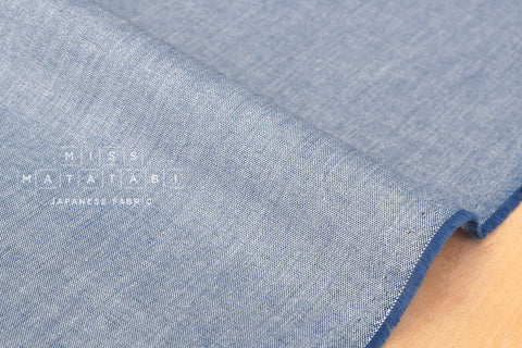 Star dust chambray - blue