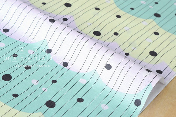 Nina Waves - pastel - fat quarter