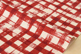 Kokka Gingham - red