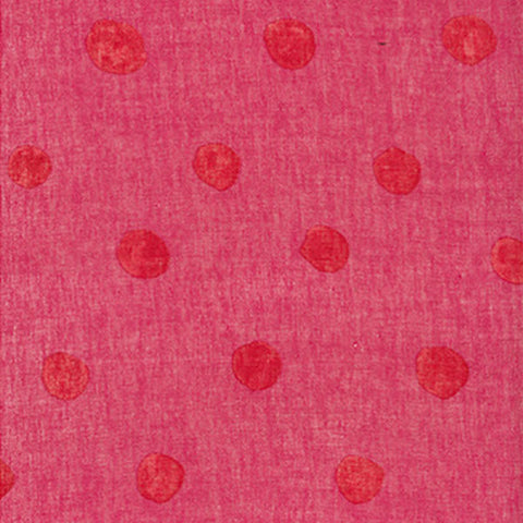 Nani Iro Kokka Japanese Fabric candy POCHO - pink, red