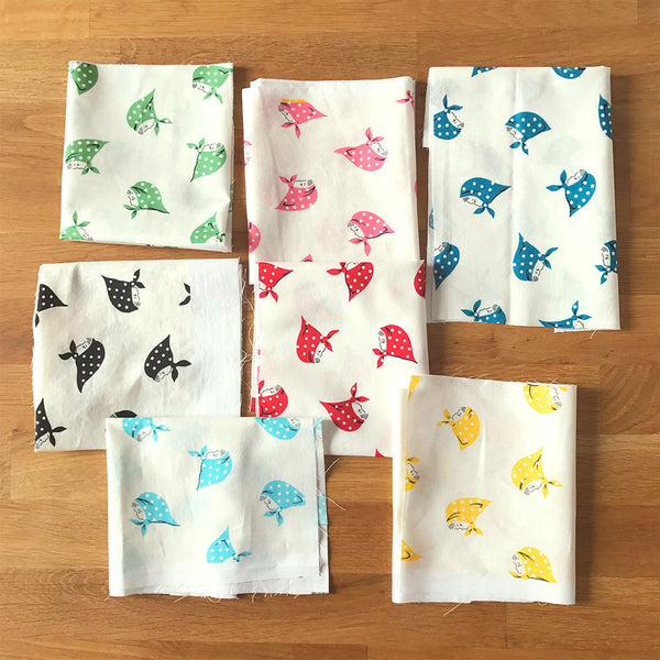 Kerchief Girls - fat quarter bundle