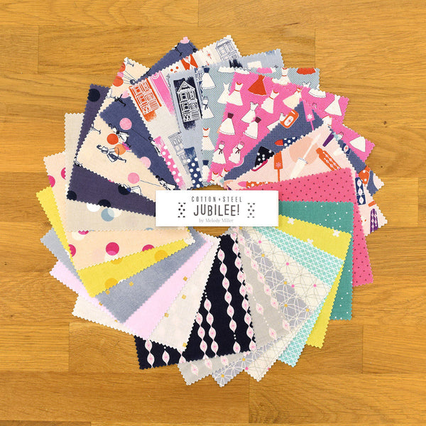 Cotton + Steel Charm Pack - Japanese Fabric - Jubilee