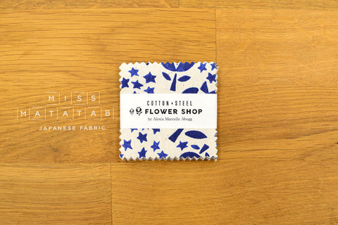 Cotton + Steel Mini Charm Pack - Japanese Fabric - Flower Shop