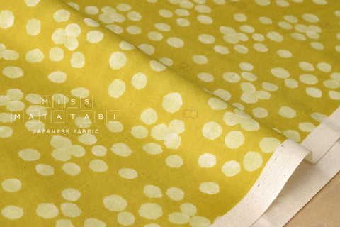 Kokka Trefle Cucito - Acacia double gauze - yellow