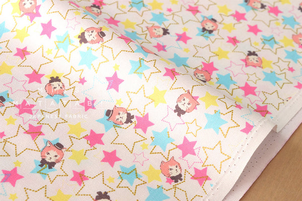 Kokka Starry Cats - fat quarter