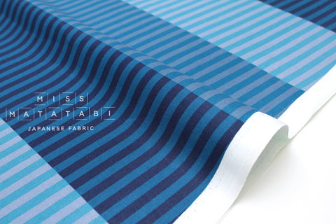 Cotton + Steel Eclipse - party stripes - night - 50cm