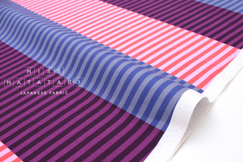 Cotton + Steel Eclipse - party stripes - dawn - 50cm