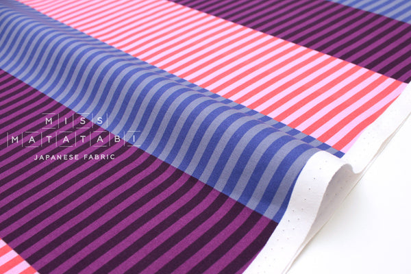 Cotton + Steel Eclipse - party stripes - dawn - fat quarter