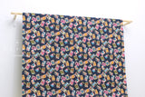 Japanese Fabric Showa Matchbox dobby - navy blue - 50cm